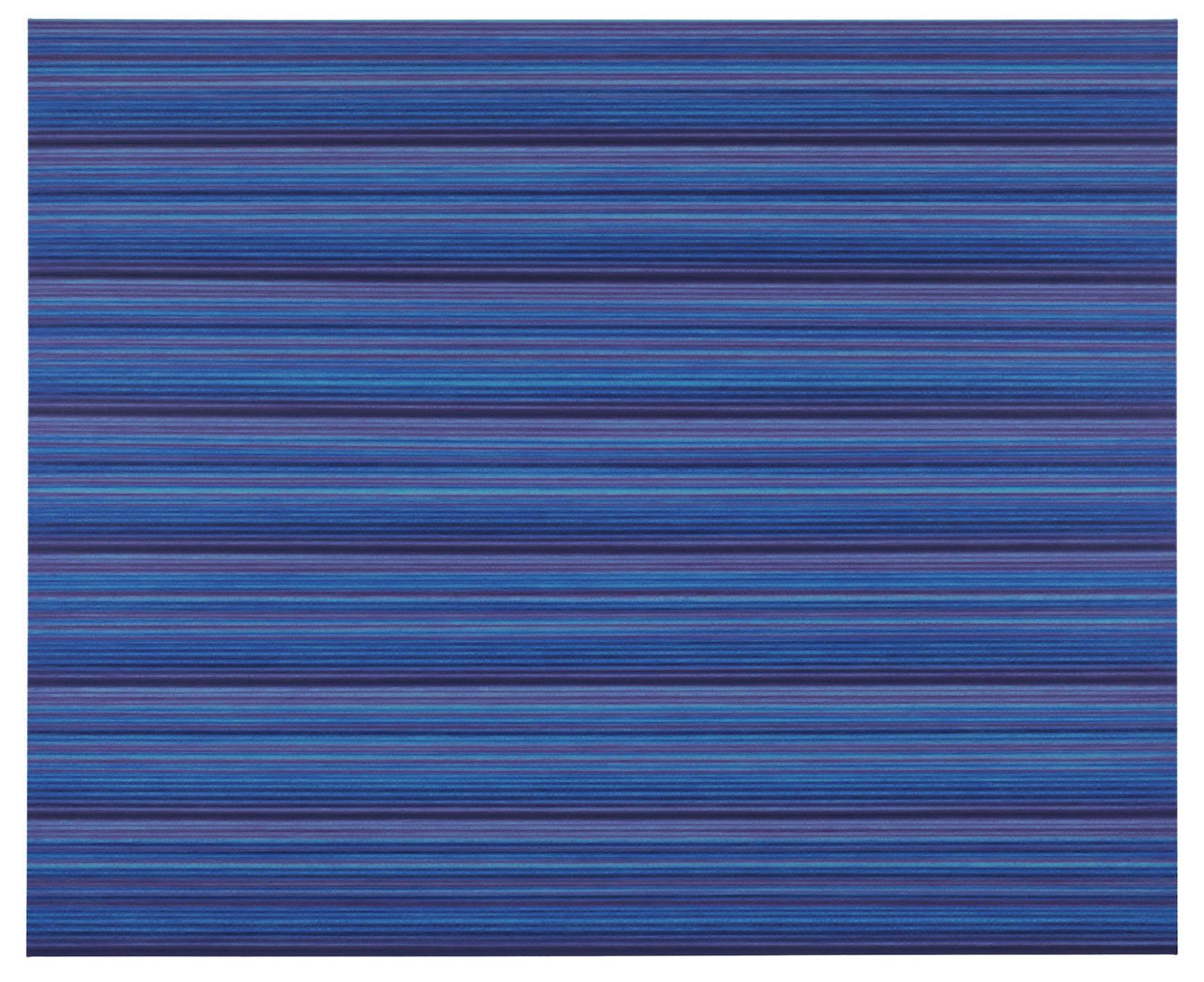 "Rickard Sollman, ""syskonet (blå)"", 2012, oil on canvas, 130 x 160 cm"