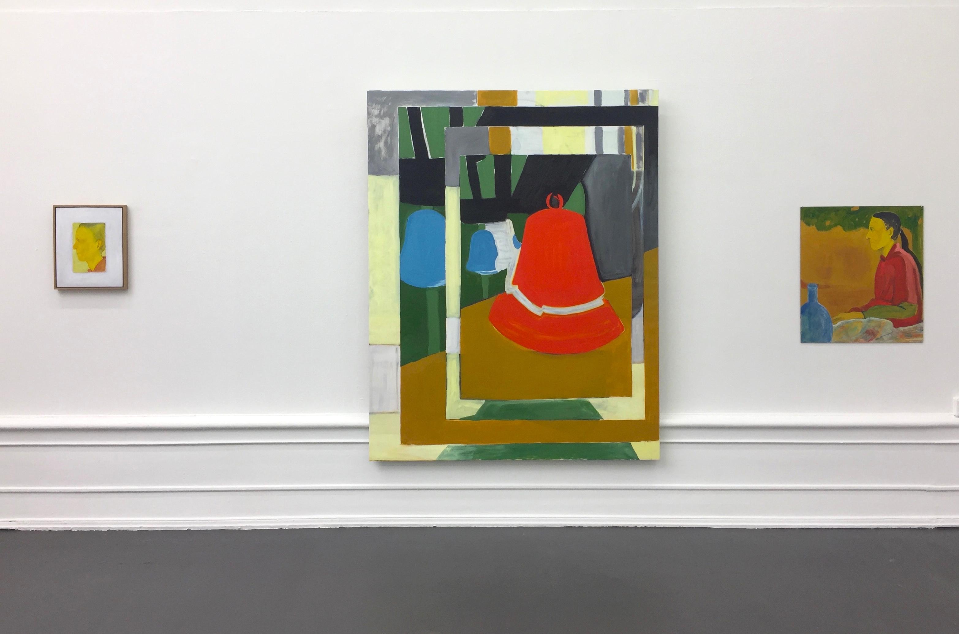 "Lina Bjerneld, ""Geer / Veer"" 2019, installation view"